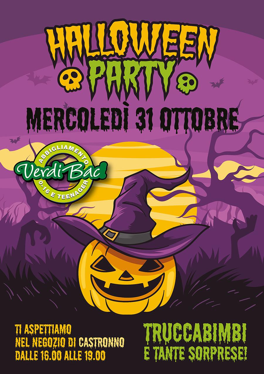 Festeggia Halloween con Verdibaci